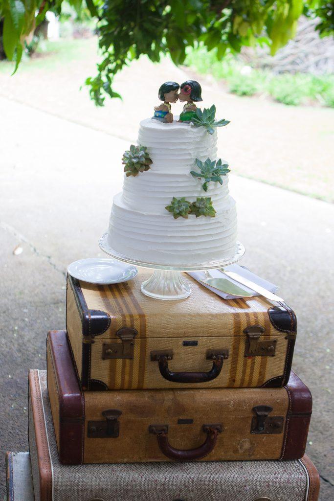 I Lava You Wedding Cake