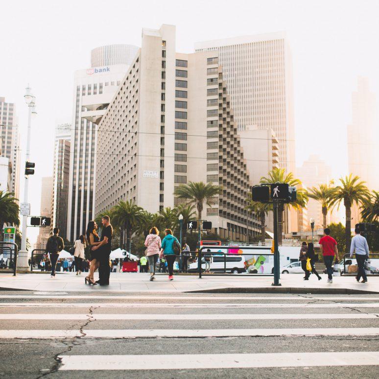 A San Francisco Engagement – Alix + Mike