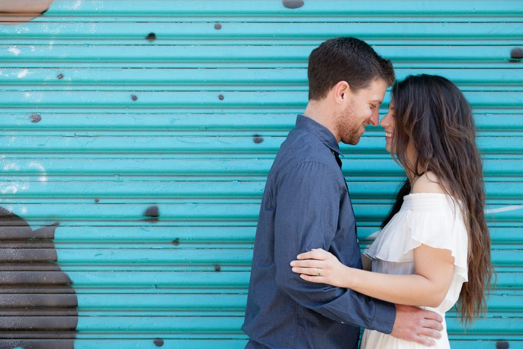 Los Angeles Engagement Session, LA Art District Engagement Photo Shoot, California Weddings