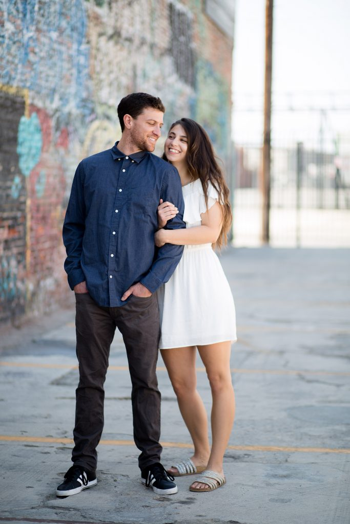 Los Angeles Art District Engagement Shoot, Bride to be, Los Angeles Photo Shoot