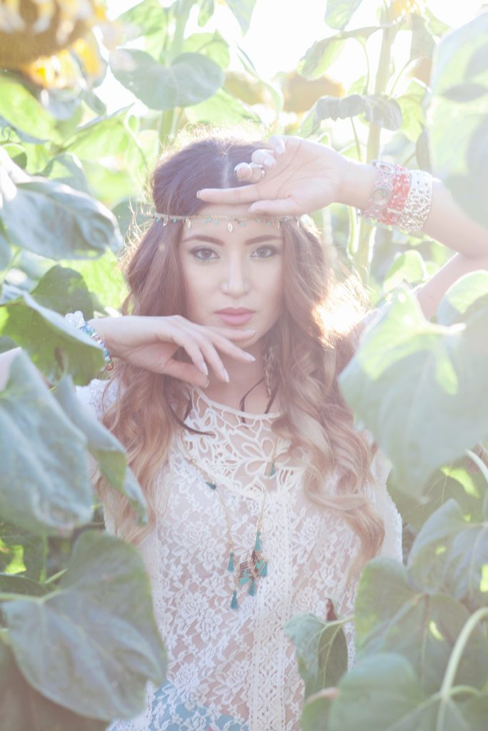 Boho Chic Senior Portraits - Fairfield CA